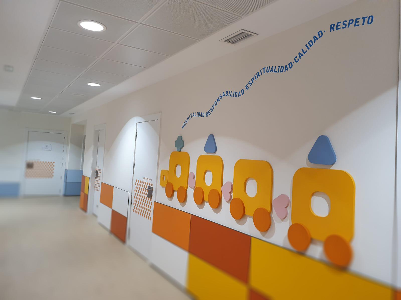Rotulación vinilos Hospital en Granada